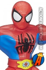 Playskool Sling Action Spider-Man figure.