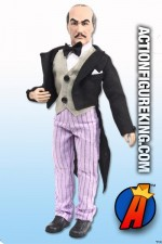 Awesome looking Mego-style Alfred Pennyworth action figure with removable fabric uniform.
