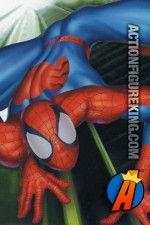 Comic book style art for this RoseArt Ultimate Spider-Man jigsaw puzzle.