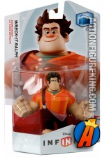 Disney Infinity Wreck It Ralph figure and gamepiece.