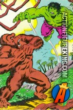 Whitman The Incredible Hulk 200-Piece Jungle Duel jigsaw puzzle.