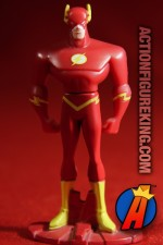 Die-cast Flash figure based on the Justice League Animated series.