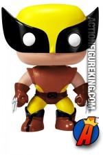 Funko Pop! Marvel Brown Variant WOLVERINE Bobblehead Figure.