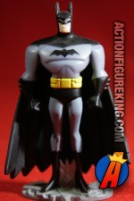 From the Justice League Unlimited animated series comes this die-cast Batman figure from Mattel.