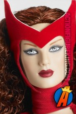 From the pages of the Avengers comes this Scarlet Witch Tonner dressed figure.