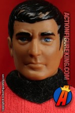 8 inch Mego Star Trek Mr. Scott action figure.