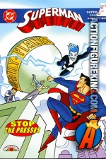 Superman Stop the Presses Coloring Book from Landolls.