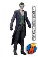 "6.85"" Joker action figure from Batman - Arkham Origins Series 1 by DC Collectibles."