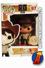 Funko Pop! TV 7-11 Exclusive THE WALKING DEAD Bloody CARL GRIMES figure.