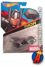 Avengers' Thor die-cast car from Hot Wheels.