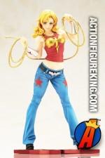 DC Comics Kotobukiya Teen Titans WONDER GIRL Bishoujo Statue.