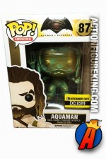 Funko Pop! Heroes Batman v Superman Variant Patina AQUAMAN Figure.