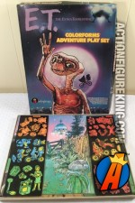 E.T. the Extraterrestrial Adventure Playset from Colorforms circa 1982.