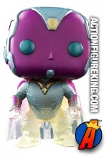 Funko Pop! Marvel Age of Ultron Faded VISION Variant Figure.
