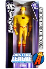 Justice League animated series 10-inch scale Justice Lord Flash roto figure.