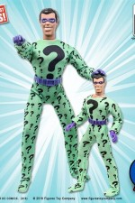 DC COMICS SIXTH-SCALE THE RIDDLER MEGO STYLE ACTION FIGURE with Cloth Uniform