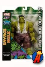 Marvel Select Savage Hulk premium action figure from Diamond.