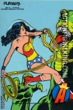 1979 Wonder Woman's Capture 16-piece tray-puzzle from Playskool.