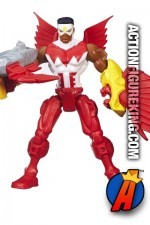 Six-Inch scale Falcon figure from the Marvel Super Hero Mashers line by Hasbro.