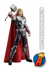 From the The Avengers movies comes the Mighty Thor as this 8-inch scale Figma figure.