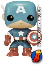 Funko Pop! Marvel Amazon Exclusive Variant Sepia CAPTAIN AMERICA figure.