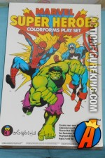 Marvel Super-Heroes Colorforms Play Set circa 1983.