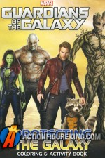 Guardians of the Galaxy Coloring and Activity Book from Vision Street.