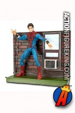 Marvel Select The Amazing Spider-Man Unmasked movie figure.