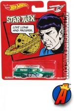 STAR TREK 2013 Pop Culture Mr. SPOCK die-cast vehicle from HOT WHEELS.