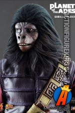 Sixth-scale Planet of the Apes Gorilla Soldier Action figure from Hot Toys.