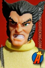8 Inch Famous Cover Series Wolverine action figure with reomvable fabric outfit from Toybiz.
