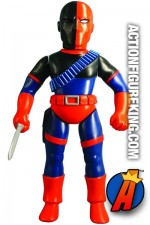 Sofubi 10-Inch Scale Deathstroke Figure from Medicom.