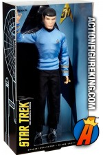 STAR TREK 50th Anniversary Barbie MR. SPOCK figure from Mattel.