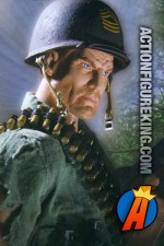 Fully artciulated sixth-scale Sgt. Rock action figure from DC Direct.