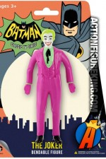 Cesar Romero style bendable Joker figure from NJ Croce.