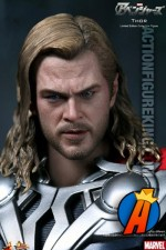 Movie Masterpiece Chris Hemsworth as Thor action figure from Hot Toys.