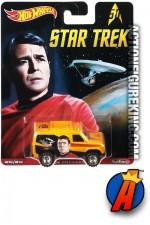 HOT WHEELS 2016 STAR TREK MR. SCOTT Baja Breaker die-cast vehicle.