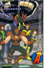 2003 RoseArt X-Men Evolution 63-piece jigsaw puzzle.
