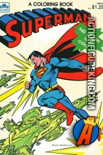 Superman 140-page Coloring Book from Golden.