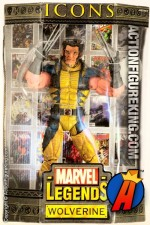 Wolverine Unmasked Marvel Legends 12-Inch Icons Action Figure from Toybiz