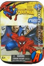 Spider-Man Spider-Sense Mini Tin Jigsaw-Puzzle.