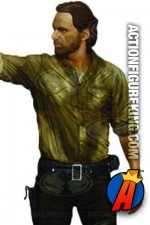 The Walking Dead 10-inch Rick Grimes action figure.