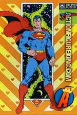 Golden 200-Piece 1989 Superman jigsaw puzzle.