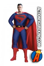 13 inch DC Direct fully articulated Kingdom Come Superman action figure with authentic fabric outfit.