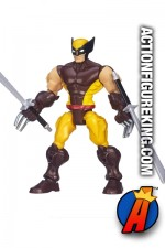 6-inch scale Wolverine figure from Hasbro's Marvel Super Hero Mashers line.