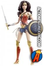 BARBIE Batman v Superman Dawn of Justice WONDER WOMAN figure.