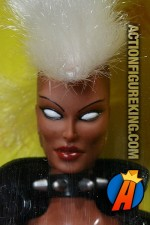Second edition 12-inch Storm action figure with authentic fabric outfit from Toybiz.