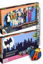BATMAN Classic TV Series Bendable Figures Boxed Set.