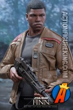 Star Wars sixth-scale Finn action figure from Hot Toys and Sideshow Collectibles.