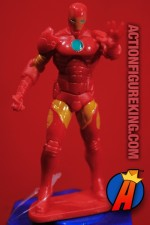 MARVEL Avengers Assemble IRON MAN PVC figure with fan and candy from Frankford.